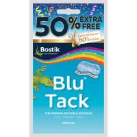 Bostik Blu Tack 50% Extra Free