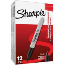 Black Sharpie Fine Marker Bulk Box
