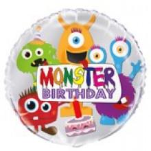 Foil Balloons Monsters