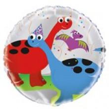 Foil Balloons Dinosaurs