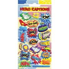 Hero Captions Stickers