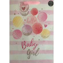 Gift Bags Baby Girl Ex.Large