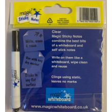 MAGIC STICKY NOTES CLEAR