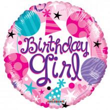Birthday Girl Foil Balloon