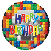 Foil Balloons Happy Birthday Shapes