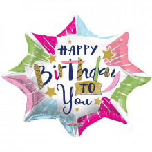 Foil Balloons Happy Birthday To you