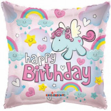 Foil Balloons Happy Birthday Pony