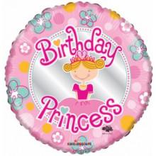 Foil Balloons Birthday Princess