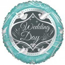 Wedding Day Foil Balloon