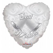 Best Wishes Wedding Foil Balloon