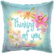 Thinking Of You Pillow Foil Balloon