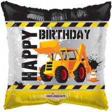 Foil Balloons Happy Birthday Digger