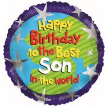 Happy Birthday Son Foil Balloon
