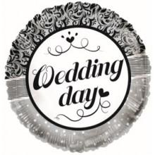 Wedding Day Ornaments Foil Balloon