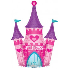 Princess Castle Foil Balloon S/Shape