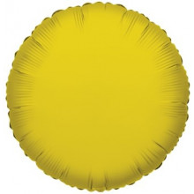 Gold Round Foil Balloon