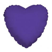 Purple Heart Foil Balloon