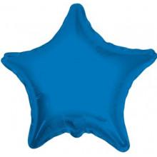 Royal Blue Star Foil Balloon