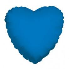Royal Blue Heart Foil Balloon