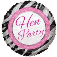 Hen Party Foil Balloon