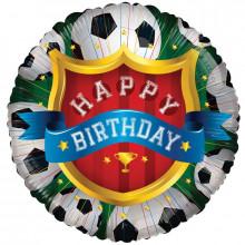 Foil Balloons Happy Birthday Football