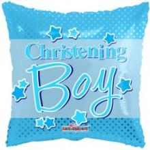 Christening Boy Foil Balloon