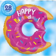 Donut Happy Birthday Foil Balloon