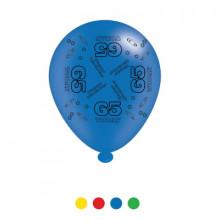 Age 65 Latex Balloons