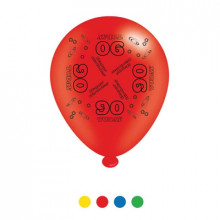 Age 90 Latex Balloons