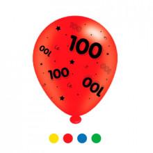 Age 100 Latex Balloons