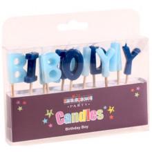 Birthday Boy Blue Candles