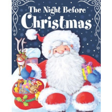 Night Before Christmas Book Lge