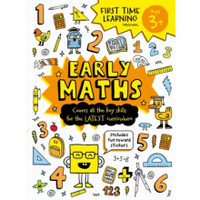 First Time Learning Book Early Maths Age 3+