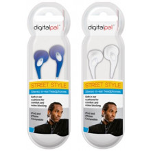 Street Style In-ear Headphones Assorted