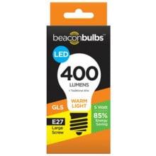 5W LED Light Bulb GLS E27 Screw