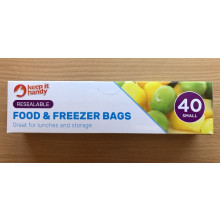 Food & Freezer Bags 40 Pack