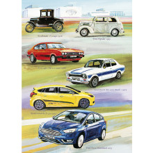 Country Cards 10452 Open Cars