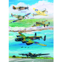 Country Cards 10620 Open Aircraft