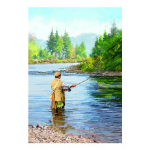 Country Cards 10667 Open Fishing