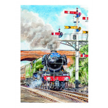 Country Cards 10678 Blank Steam Trains