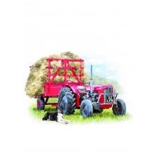 Country Cards 10686 Open Tractor