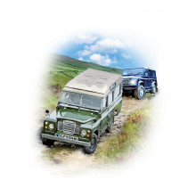 Country Cards 10698 Open Land Rover