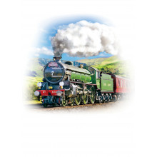 Country Cards 10717 Blank Steam Trains