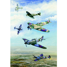 Country Cards 1093 Blank Aircraft