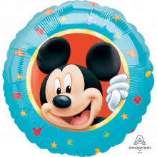 """Foil Balloons Mickey Mouse Blue 18"""""""