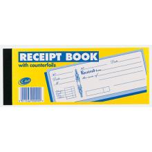 Club Counterfoil Receipt Book (100pgs)
