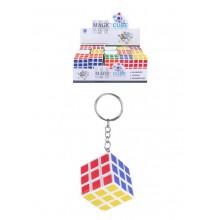 Puzzle Cube 3x3cm Keyring