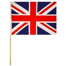 Union Jack Hand Held Flag 45x30cm