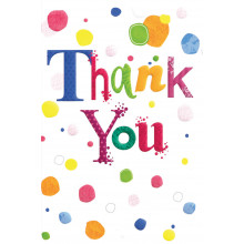 Thank You Cards Spots IW313