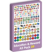 Purple Peach Education/Reward Stickers